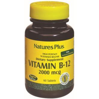 VITAMINA B12 2000mcg. 60comp.