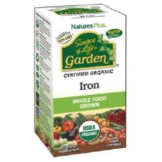 GARDEN SOURCE OF LIFE IRON hierro 30cap.