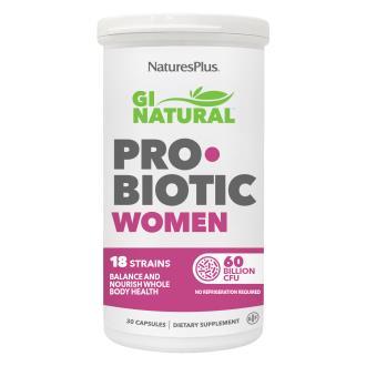 GI NATURAL probiotic women 30cap.