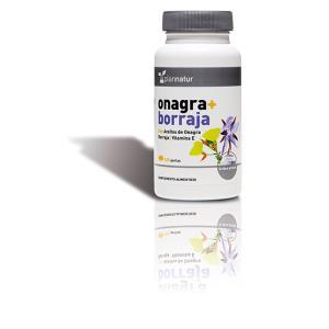 ONAGRA + BORRAJA + VIT. E 500mg. 120perlas