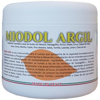 MIODOL ARGIL crema-arcilla 500ml.