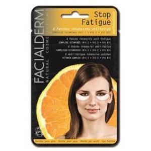 STOP FATIGUE parche ojos y labios antifatiga 6ud.