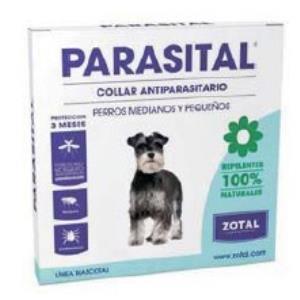 PARASITAL collar antiparasitario perros peq/med
