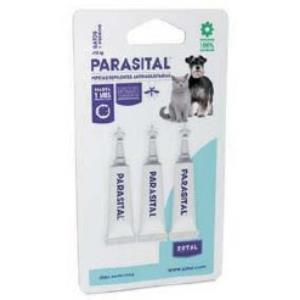 PARASITAL pipeta antiparasitario perros peq y gato