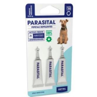 PARASITAL pipeta antiparasitario perros medianos**