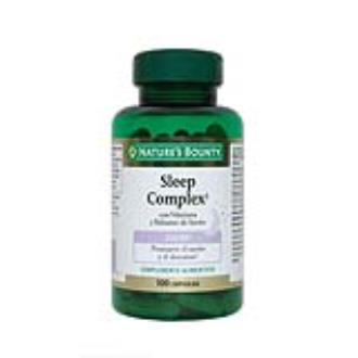 SLEEP COMPLEX con valeriana y balsamo limon 100cap
