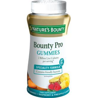 GUMMIES BOUNTY PRO bacillus coagulans 60gominolas