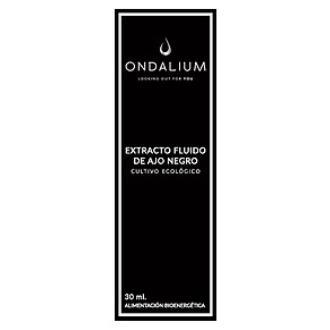 ONDALIUM extracto de ajo negro 30ml.