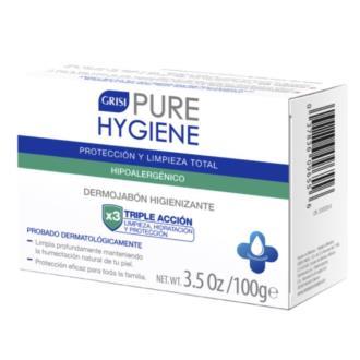 PURE HYGIENE dermojabon higienizante 100gr.