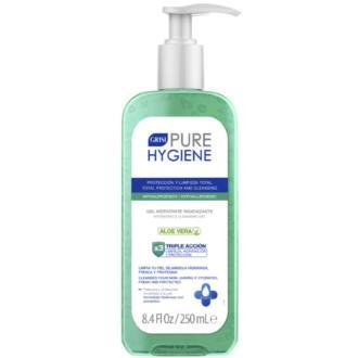 PURE HYGIENE gel aloe hidratante higienizante 250m