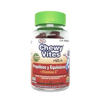 CHEWY VITES propoleo y echinacea infantil 60ud.