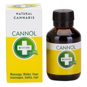 CANNOL aceite de baño y masaje 100ml.