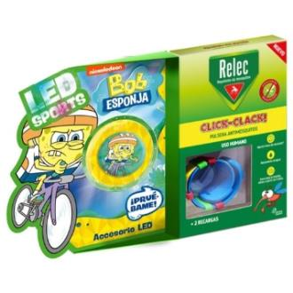 RELEC pulsera antimosquitos Bob esponja bici