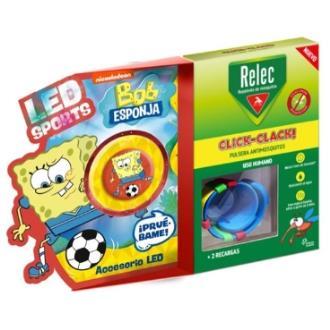 RELEC pulsera antimosquitos Bob esponja futbol