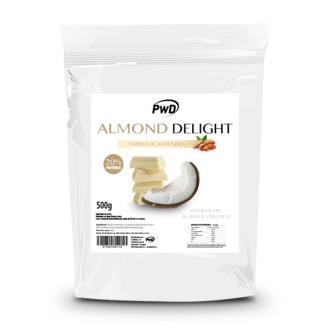 ALMOND DELIGHT chocolate blanco con coco 500gr.