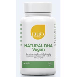 NATURAL DHA vegan 60perlas