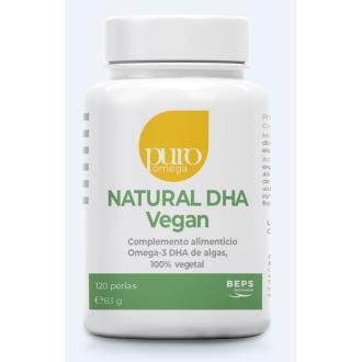 NATURAL DHA vegan 120perlas