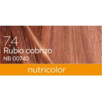 TINTE auburn blond dye 140ml. rojo cobrizo ·7.4