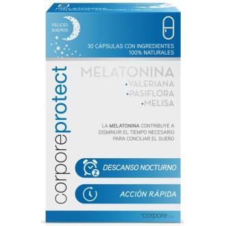 CORPORE PROTECT melatonina 1mg. 30cap.