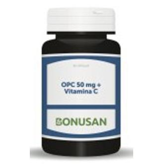 OPC 50mg. vitamina C 60vcap.