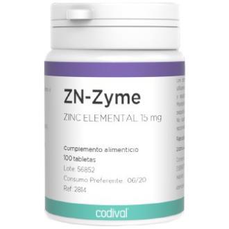 ZN-ZYME 15mg. 100comp.