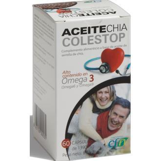 ACEITE CHIA ECO CAOX-2 (SALVIA HISPANICA) 60perlas