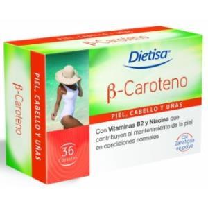 B CAROTENO 36cap