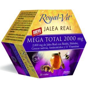 JALEA REAL ROYAL VIT MEGA TOTAL 2000mg. 20amp