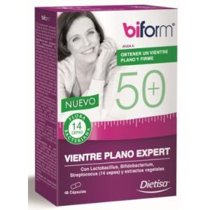 BIFORM 50  VIENTRE PLANO EXPERT 48cap.