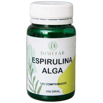 SPIRULDIN SPIRULINA (algas de Mexico)450mg. 120com