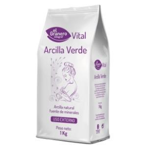 ARCILLA VERDE 1kg.