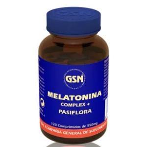 MELATONINA 1mg. complex con pasiflora 120comp.