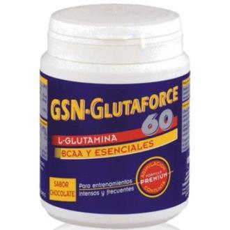 GLUTAFORCE 60 (glutamina+BCAA+esenciales) 240grs.