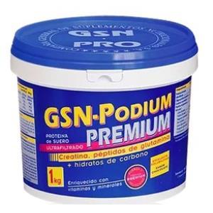 GSN PODIUM sabor chocolate 1kg.