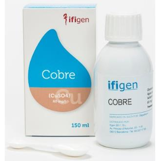 COBRE (Cu) oligoelementos 150ml.