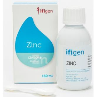 ZINC (Zn) oligoelementos 150ml.