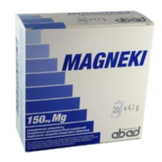 MAGNEKI EFERVES MUSCULOS/HUESOS (magneva) 20sbrs.