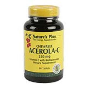 ACEROLA C 250mg. 90comp.masticables