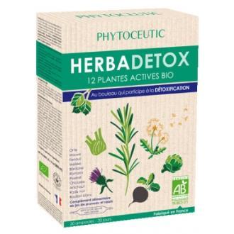 HERBADETOX BIO (herbadraine) 20amp. PHYTOCEUTIC