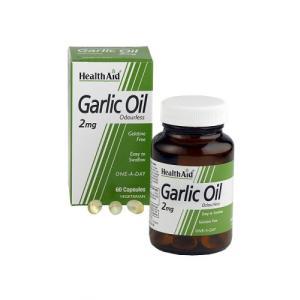 ACEITE DE AJO (garlic oil) 2mg. 60cap. HEALTH AID