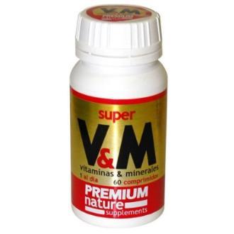 SUPER VM (vitaminas y minerales) 60comp.