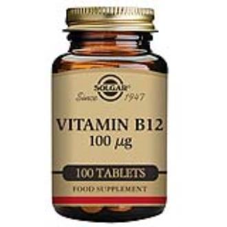 VITAMINA B12 (cianocobalamina) 100mcg. 100comp.
