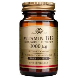VITAMINA B12 cianocobalamina 1000mcg. 100comp.mast