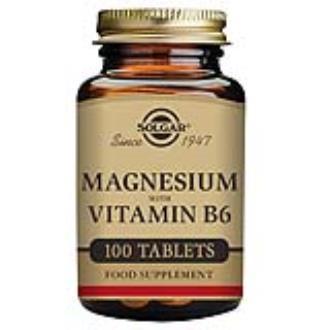 MAGNESIO + B6 100comp.