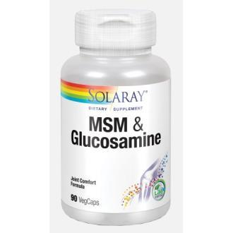 MSM AND GLUCOSAMINE 90cap.
