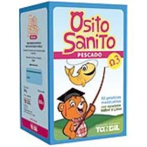 OSITO SANITO PESCADO OMEGA 3 50 gelatinas mast.