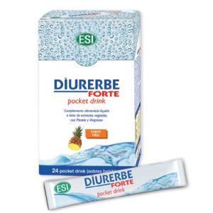 DIURERBE FORTE pocket drink sabor piña 24sbrs.