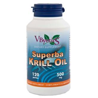 SUPERBA KRILL OIL (aceite de krill)120perlas