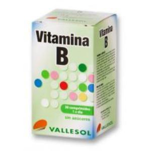 VALLESOL VITAMINA B COMPLEX 30comp