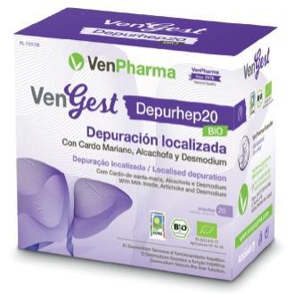 VENGEST DEPURHEP20 (HEPATO) 20viales